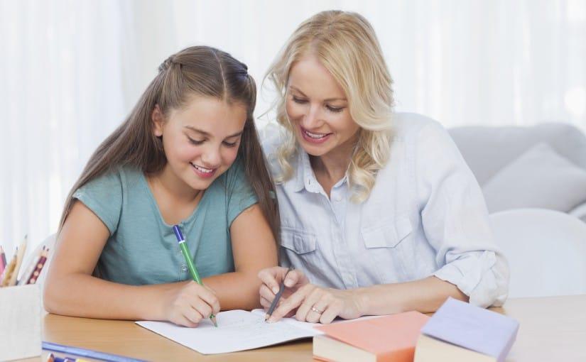 Nachhilfe im Einzelunterricht: ein Lehrer, ein Schüler